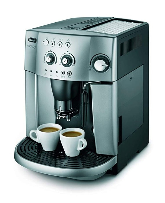 De'longhi Magnifica Esam 4200.S - Cafetera superautomática, 1450w, sistema cappuccino, capacidad 1,8l, 15 bares presión, plateado