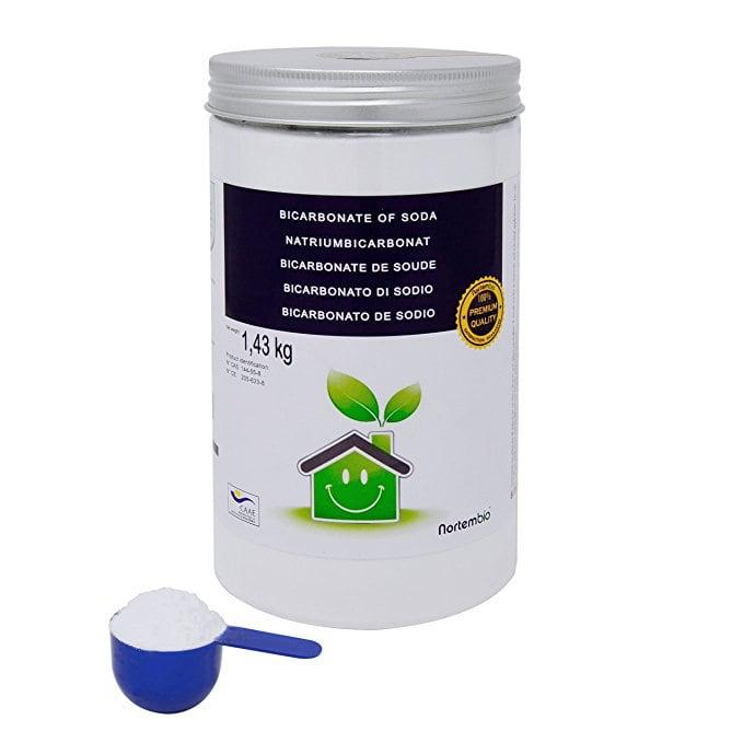 Limpieza de una cafetera con bicarbonato de sodio