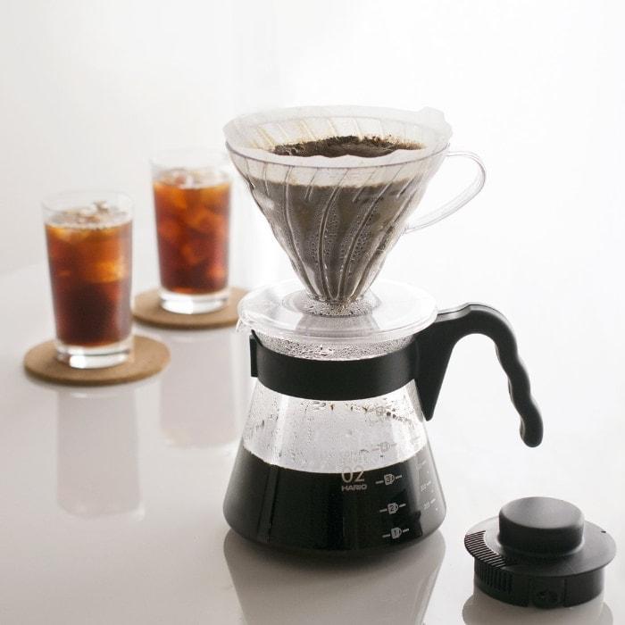 Hario - V60 - Set para preparar café de filtro