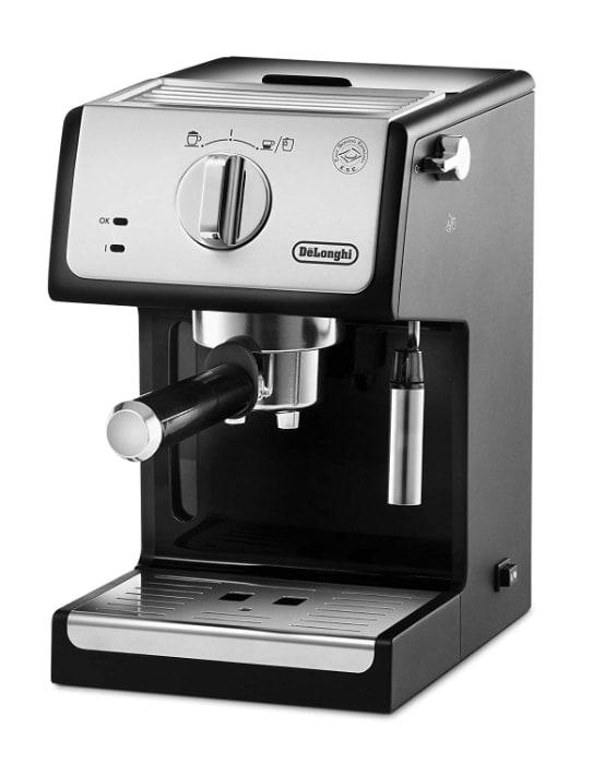 Las mejores cafeteras espresso manuales de 2019: De'longhi ECP33.21 - Cafetera espresso