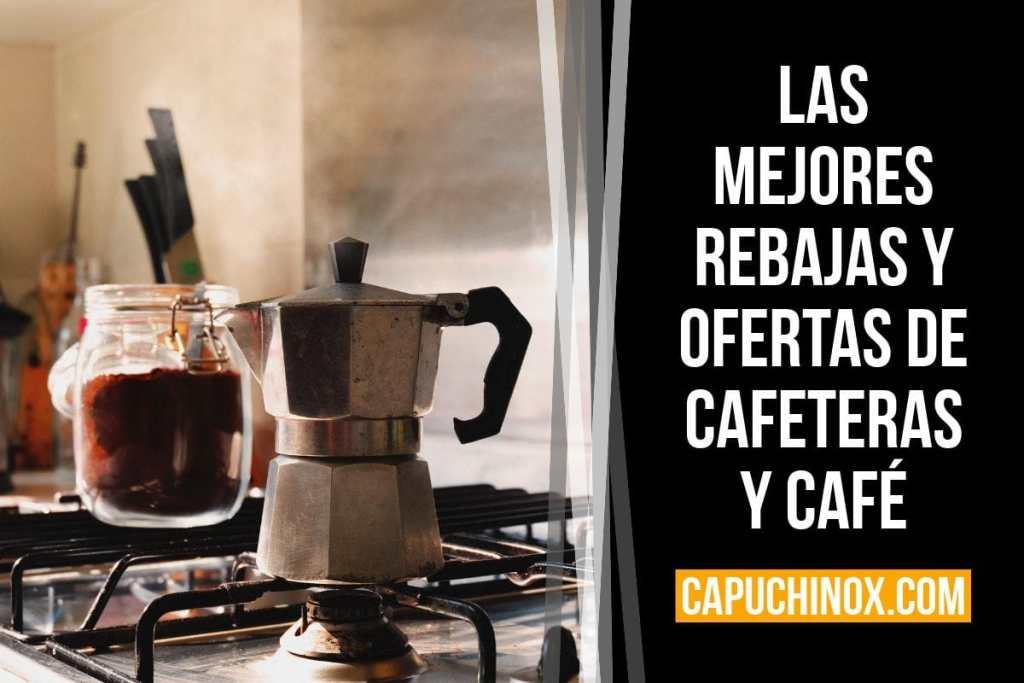 Las mejores rebajas y ofertas de cafeteras y café (Amazon España)