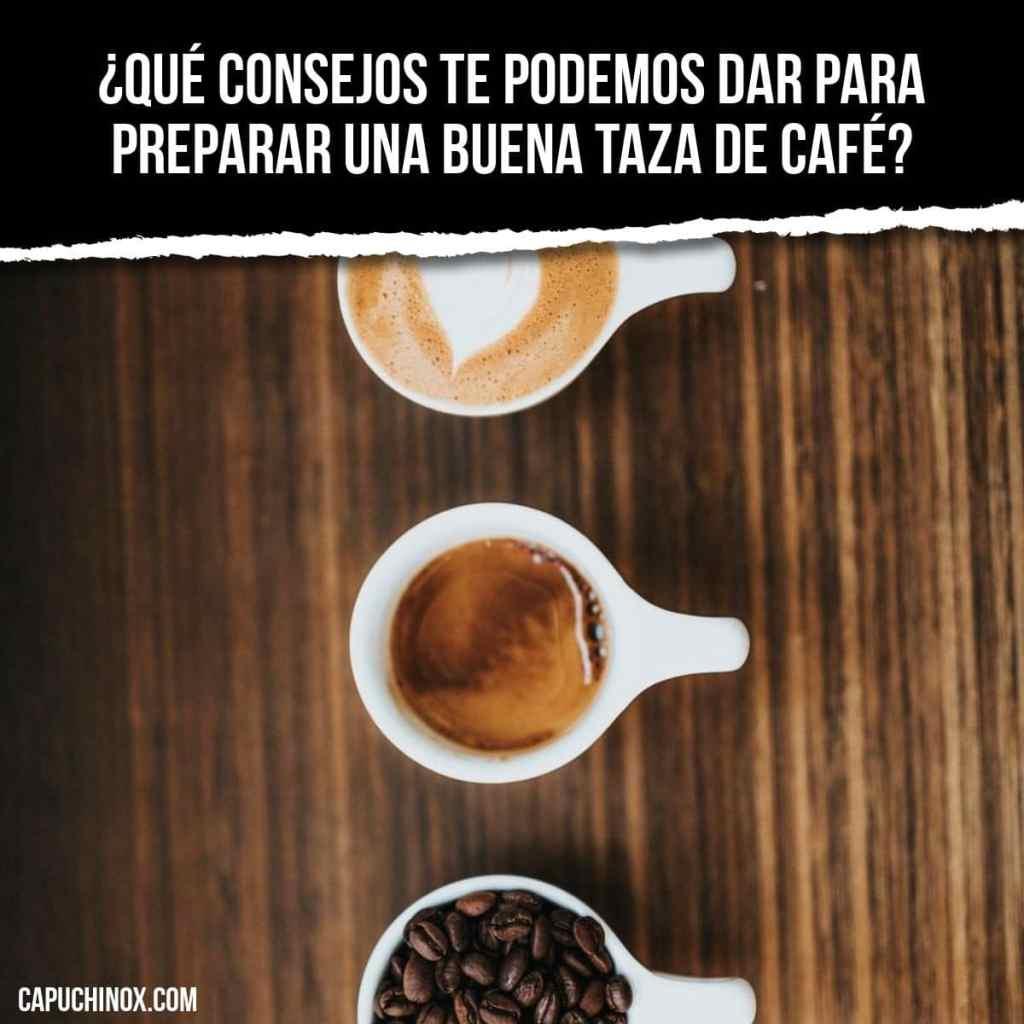 10 reglas imprescindibles para preparar una buena taza de café