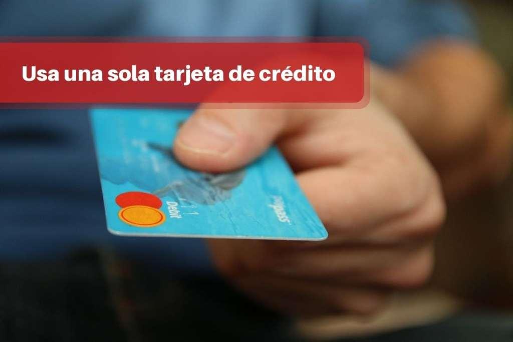 Una sola tarjeta de crédito para comprar online