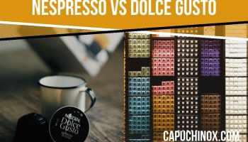 Nespresso vs Dolce Gusto: comparativa de cafeteras de cápsulas de café (Nestlé)