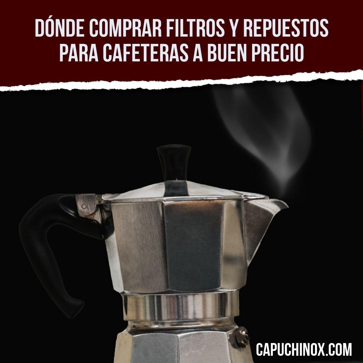 Dónde comprar filtros y repuestos para cafeteras a buen