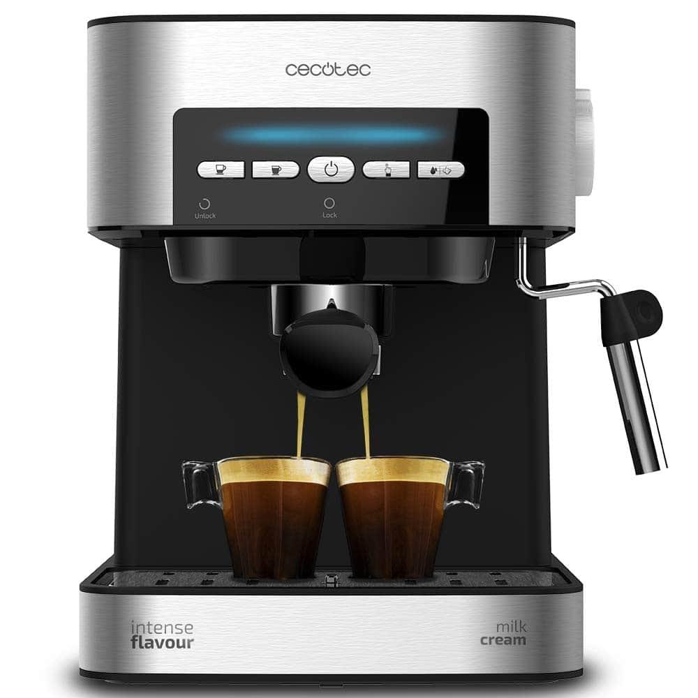 Cecotec Power Espresso 20 Matic: la cafetera espresso manual más barata
