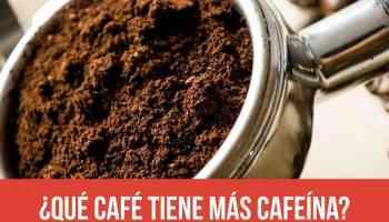 ¿Qué café recomiendas con mucha cafeína? ¿Cuál es el café más fuerte del mundo?
