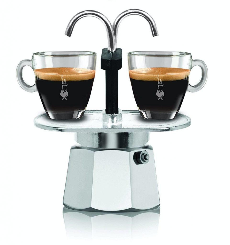 Bialetti Mini Express, Plata - Máquina de café