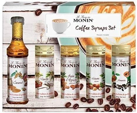 Siropes para café de Monin - Speciality Coffee Syrup Set - 5 x 50ml
