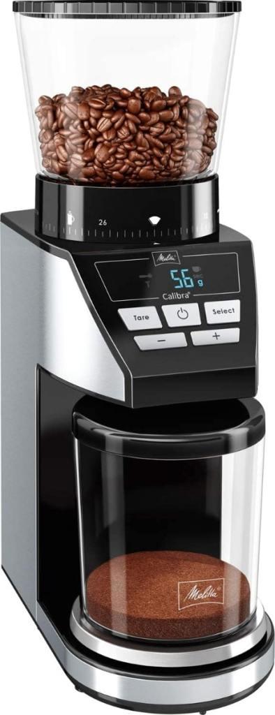 Melitta Calibra 1027-01, molinillo de café con muelas cónicas y 39 grados de molienda