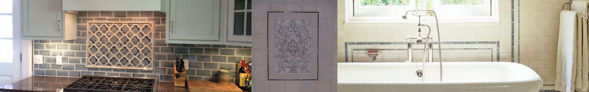 handmade ceramic tile caputo design