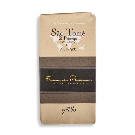 francois pralus sao tome 75 chocolate bar