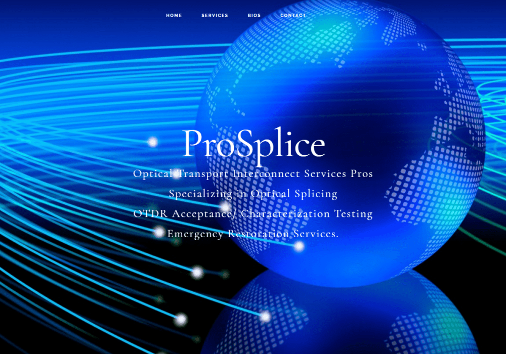 ProSplice website built with Genesis