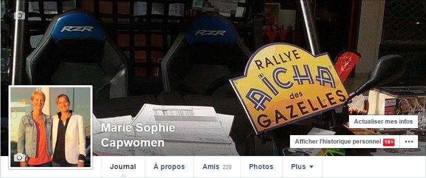 Facebook Marie Sophie Capwomen
