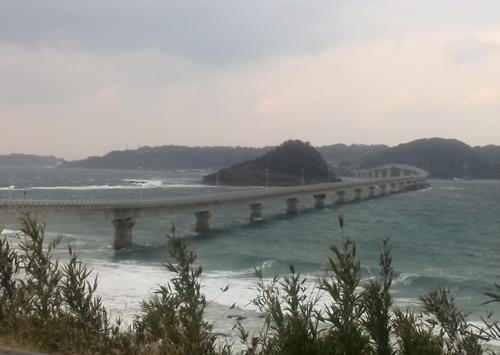 1.展望台から角島大橋