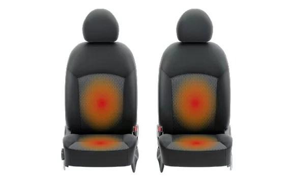 新型ミラージュ運転席・助手席シートヒーター