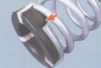 замена заднего амортизатора и задней пружины подвески на