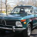 1972 Bmw 2002 Tii Excellent Condition Green With Brown Interior