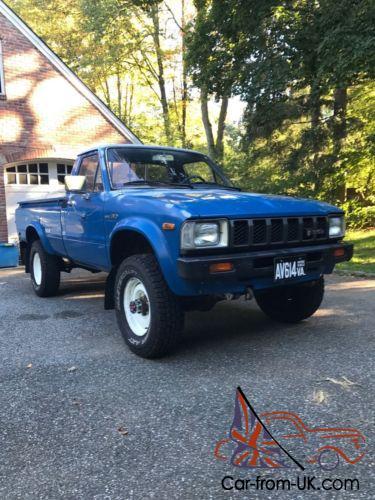 1982 Toyota Pickup Hilux 4x4 Hilux