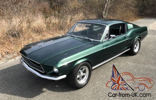A ford mustang gt fastback eleanor recreation is going up for sale next month. 1967 Ford Mustang 1967 Mustang Fastback Bullitt Fast Back 289 V8 Nj