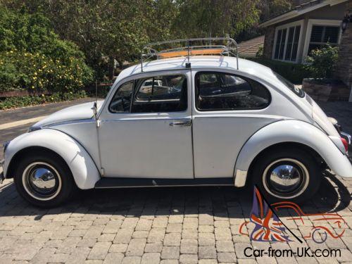 1965 volkswagen beetle classic steel
