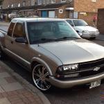 1998 Chevrolet S10 Sportside Usa American Pick Up Truck 2 2 Auto