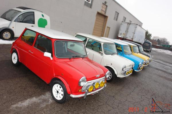 CUSTOM BUILT MINI COOPER TO YOUR SPEC EXT INT COLORS ...
