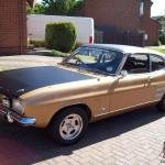 1970 Ford Capri 2000 Gt Xlr Gold 20 922 Miles From New Genuine