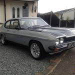 Mk1 Ford Capri Silver Black 2000 Zetec Twin Webber45s Ashley Stainless