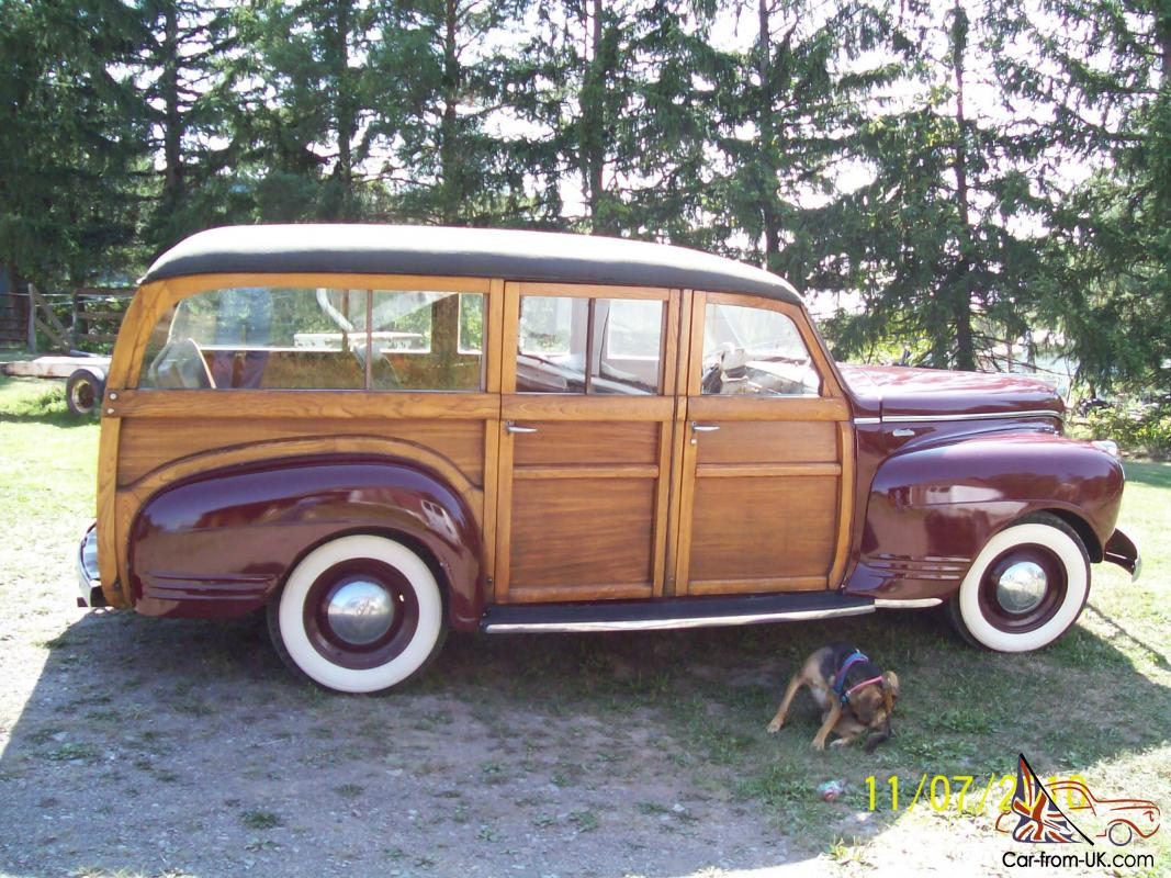 1951 Chevrolet Woody Station Wagon Interior