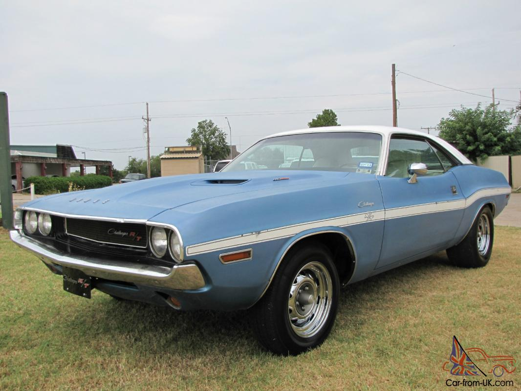 Six Dodge Pack Challenger Rt 440 70