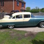 1955 Pontiac Chieftain 4 Door