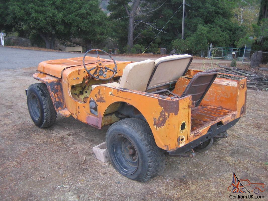 1948 Willys Jeep Serial Numbers Number Location