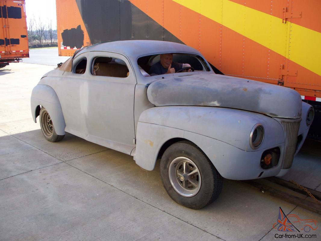 1941 Ford Coupe Project