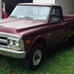 67 72 Chevy Gmc C10 C20 69 Gmc 2500 3 4 4x4 4spd 350 Pickup No Reserve