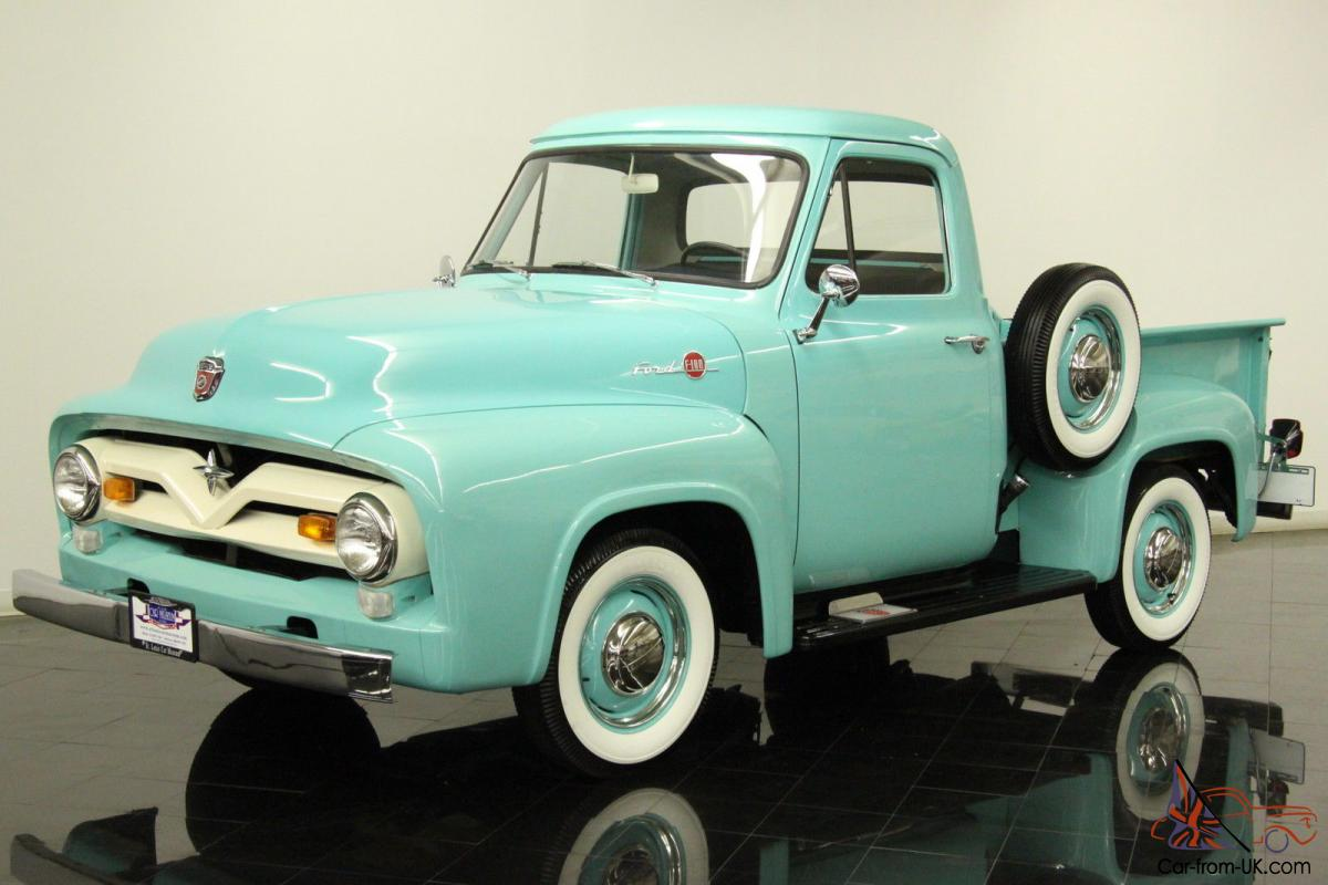 1955 Ford F100 Truck Colors