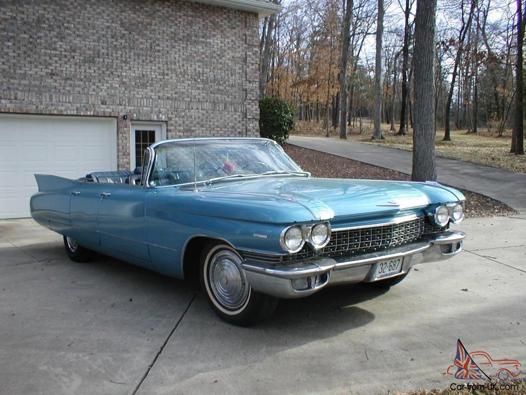 1960 Cadillac Convertible Sale