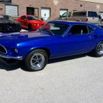1969 Ford Mustang Fastback Sportsroof 351 Windsor Midnight Blue