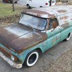 Rare 1964 Chevrolet Panel Truck Singer Sewing Machine Service Truck
