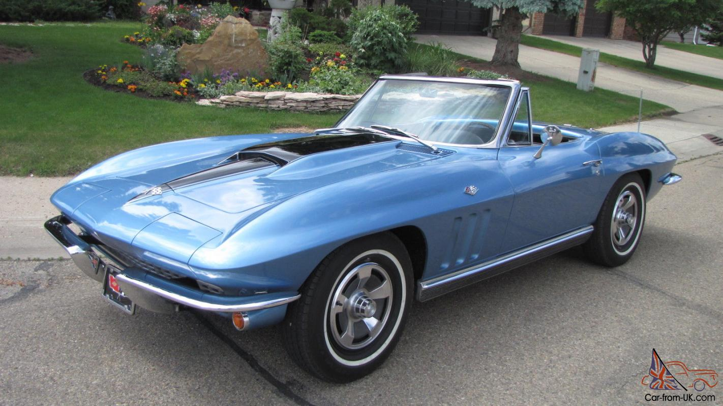 1966 Big Hood Block Corvette