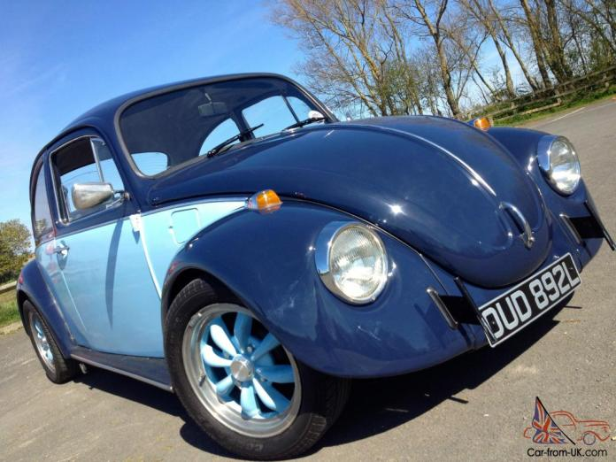 volkswagen beetle vw bug cal look tax exempt