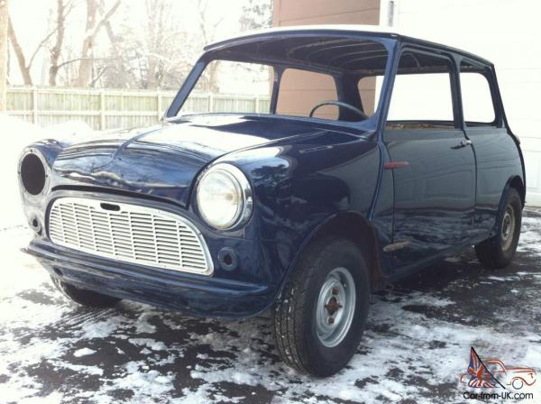 1960 Morris Classic Mini 1st year USA Import Left Hand ...