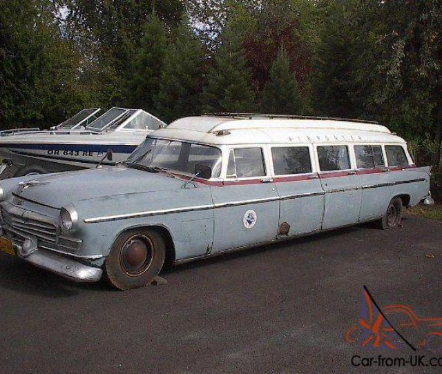 Airporter Limo  Door Station Wagon Not Dodge Plymouth Desoto