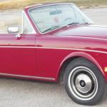 1983 Rolls Royce Corniche Ii Convertible Red Tan Very Low Miles