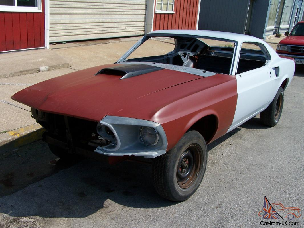 The original 289 4v v8 engine has been upgraded to a 351ci. 1969 Ford Mustang Fastback Rust Free Clean Texas Title Perfect For Project