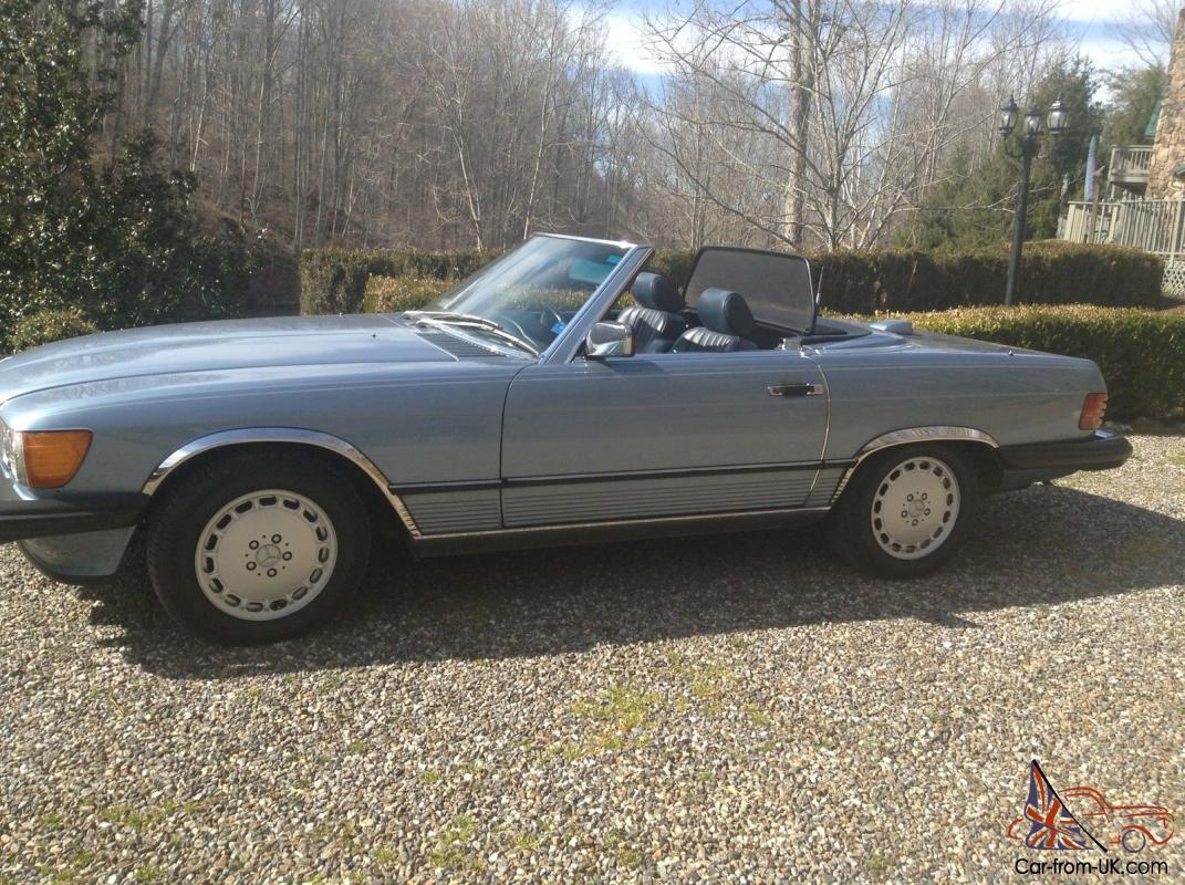 1987 Mercedes 560sl Blue Book 1988 Fuse Box Location