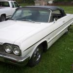 1964 Chevy Impala Convertible 409 4 Speed