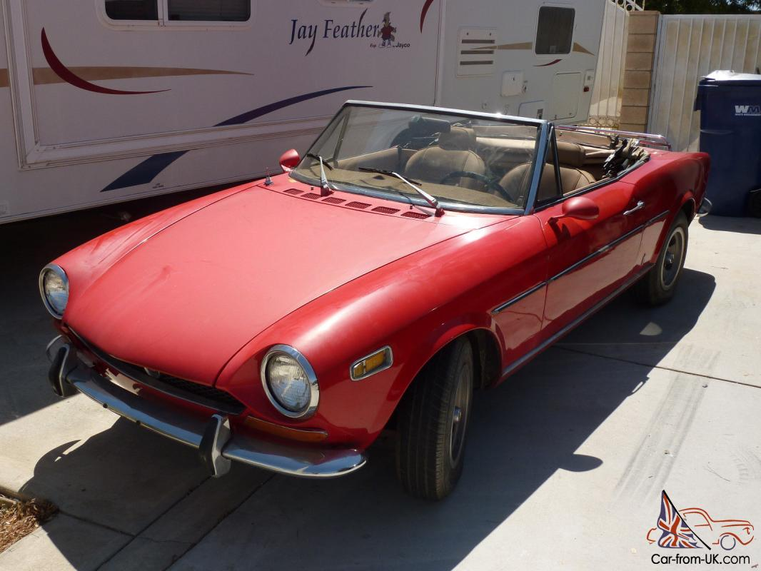 One of the world's largest carmakers, fiat s.p.a. 1970 Fiat 124 Sport Coupe Spider