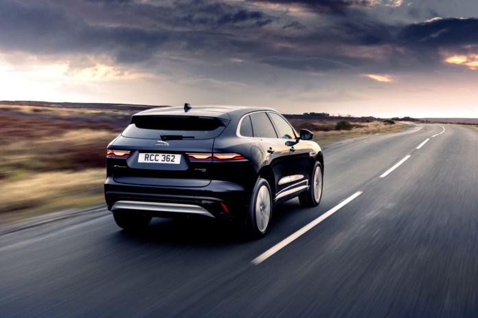 Jaguar F-Pace plug-in hybrid
