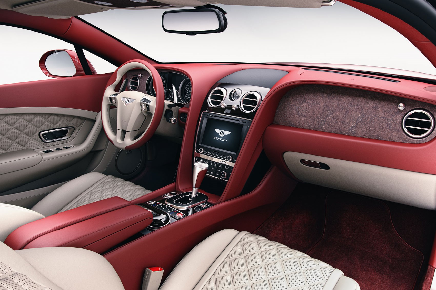 Wood No Good How About Stone Veneers In Your Bentley CAR Magazine